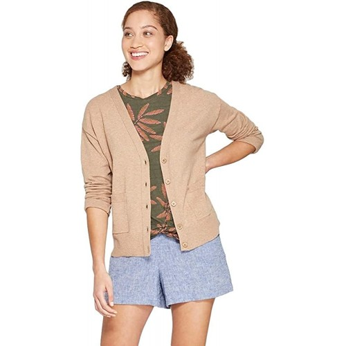 A New Day Women's Any Day V-Neck Cardigan Sweater at Women's Clothing store