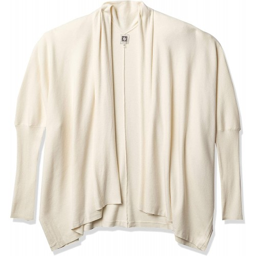 Anne Klein Women's Oversized Poncho Cardigan at  Women's Clothing store