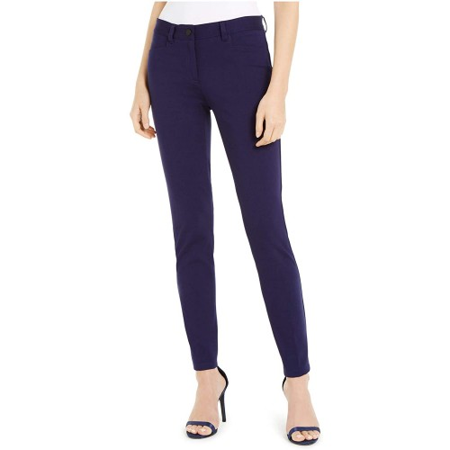 Anne Klein Fly Front Compression Leggings