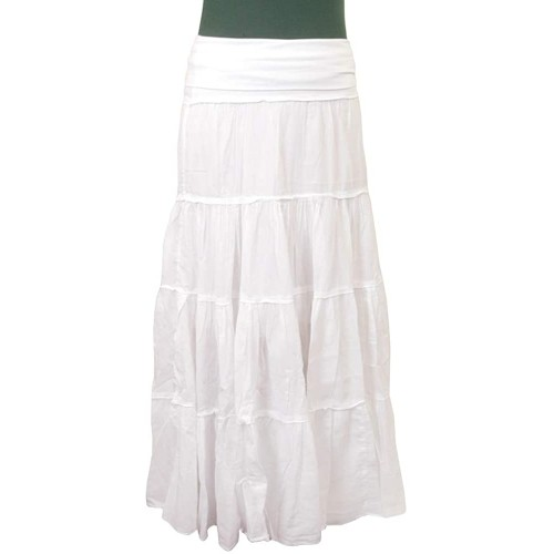 Hard Tail Forever Maxi Tier Skirt with Rolldown Waistband Style VL-27 at  Women's Clothing store