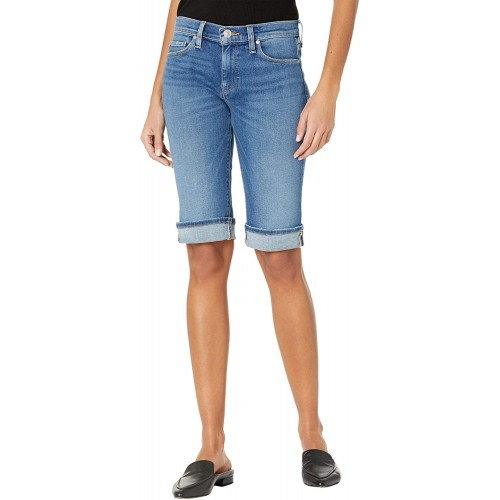 HUDSON Jeans Women's Amelia Mid Rise Knee Short Freedom 31 at  Women's Clothing store