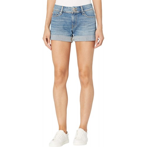 HUDSON Jeans Women's Croxley Mid Rise Cuffed Jean Short Walk On by 27 at Women's Clothing store