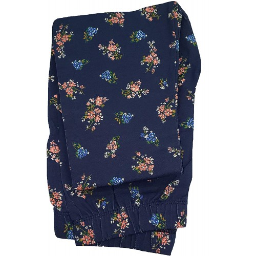 Blue Cove Floral Ankle Legging at  Women's Clothing store