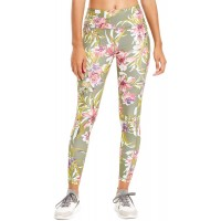 Ideology Women's Floral-Print Leggings Dusty Olive XX-Large at  Women's Clothing store