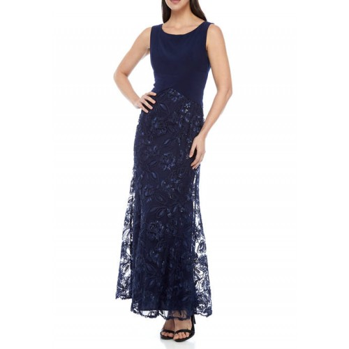 Alex Evenings Women's Long Fit and Flare Gown