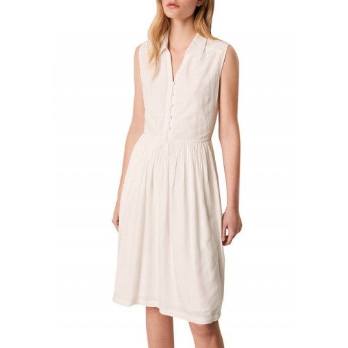 French Connection Sleeveless Collared Dress