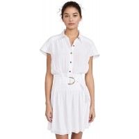 Ramy Brook Women's Stacy Short Sleeve Shirt Dress with Belt at  Women's Clothing store