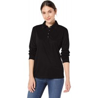 Ashe Xtream womens Acty-75111-eperformance Snag Protection Long-sleeve Polo at  Women's Clothing store