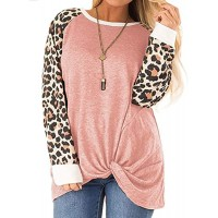CARCOS Plus Size Tops for Women Twist Knotted Shirts Raglan Tunic Blouses L-5XL at  Women's Clothing store