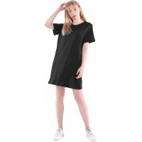 Long T Shirts Women Summer Casual Aesthetic Cute Cotton Loose Fit Basic Night Dress Tunic Tees Tops Oversized Plus Size at  Women's Clothing store