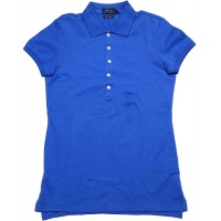 Polo Ralph Lauren Womens Skinny Fit Stretch Mesh Short Sleeve Polo Shirt at  Women's Clothing store