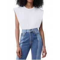 French Connection Shoulder Pad T-Shirt
