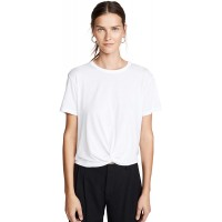 Monrow Women's Twist Front Tee at  Women's Clothing store