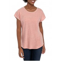 New Directions® Women's Embroidered Knit T-Shirt