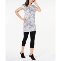 Ideology Womens Printed Keyhole Tunic Top at  Women's Clothing store